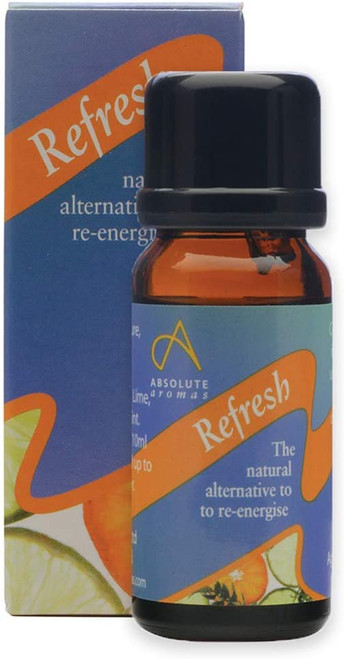 Absolute Aromas Mood Booster Refresh Essential Oil - 10ml