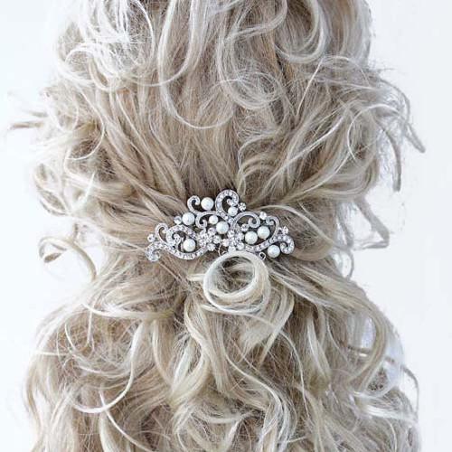 Handmadejewelrylady Bridal Women Vintage Wedding Hair Comb