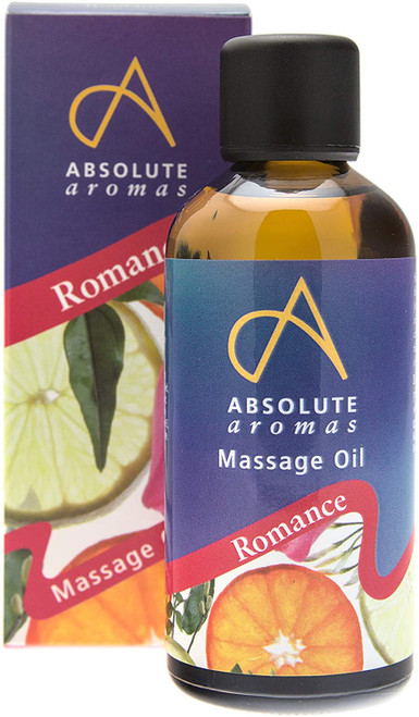 Absolute Aromas Romance Sensual Body Massage Oil - 100ml