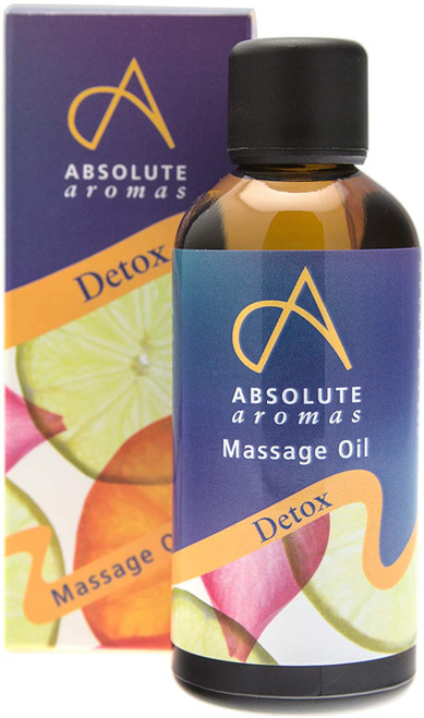 Absolute Aromas Soothing Detox Body Massage Oil - 100ml