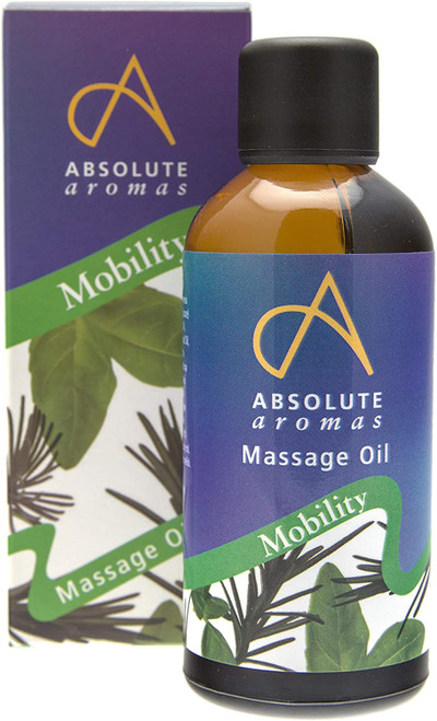 Absolute Aromas Warming Mobility Body Massage Oil - 100ml