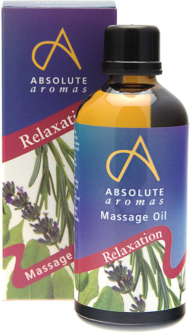 Absolute Aromas Stress Relief Relaxation Body Massage Oil - 100ml