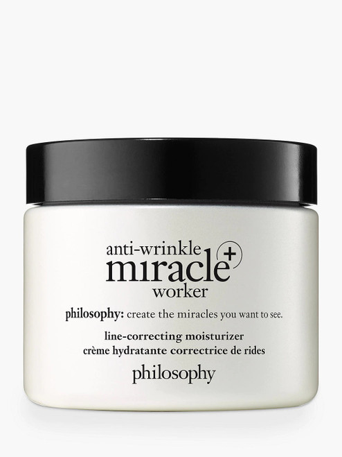 Philosophy Line-Correcting Moisturiser and Anti-Wrinkle Miracle Worker-60ml
