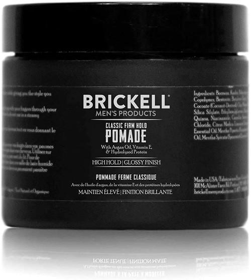 Brickell Men Firm Hold Pomade-59ml