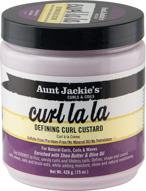 Aunt Jackies Curl La La Defining Curl Custard-Pack Of 1