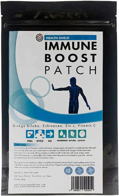 Health Shield Nutritional Immunity Boost Patches - 30 Patches