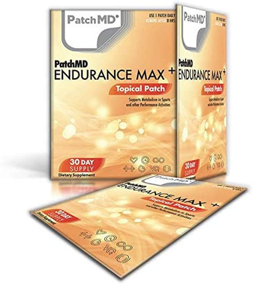PatchMD Endurance Max Plus for Sensitive Stomach Patches - 30 Patches