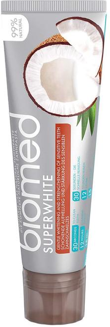 Biomed Superwhite Gentle Whitening Sensitive Teeth Coconut Toothpaste - 100 g