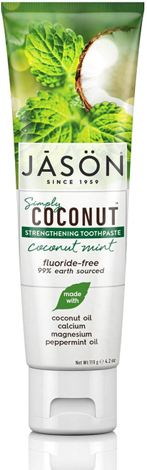 Jason Healthy Sparkle Coconut Mint Strengthening Toothpaste - 119g