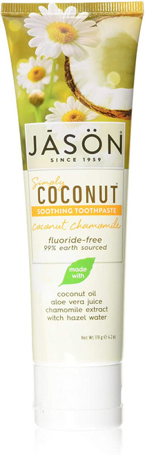 Jason Coconut Soothing Chamomile Toothpaste - 119g