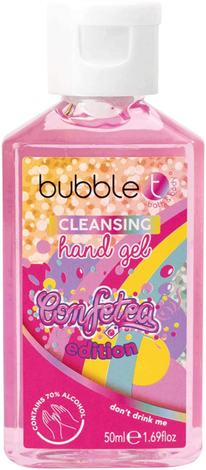 Bubble T Sweet and Fruity Anti-Bacterial Hand Sanitiser Gel - 50ml