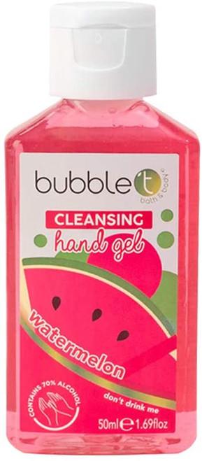 Bubble T Fresh Tropical Watermelon Hand Sanitiser Gel - 50ml