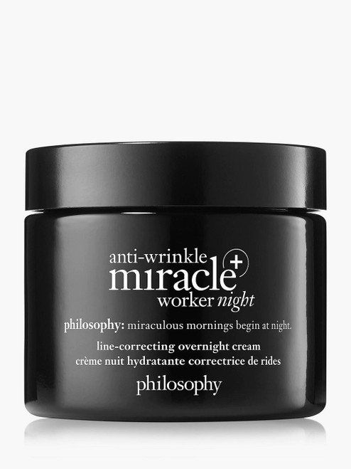 Philosophy Line-Correcting Overnight and Anti-Wrinkle Miracle Worker Cream-60ml