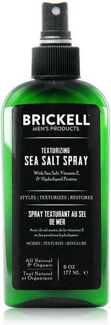 Brickell Mens Texturizing Sea Salt Spray-177ml