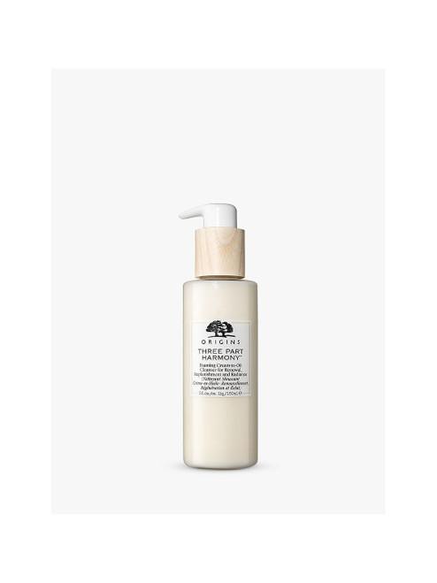 Origins Foaming Cream-to-Oil Cleanser Three Part Harmony-150ml