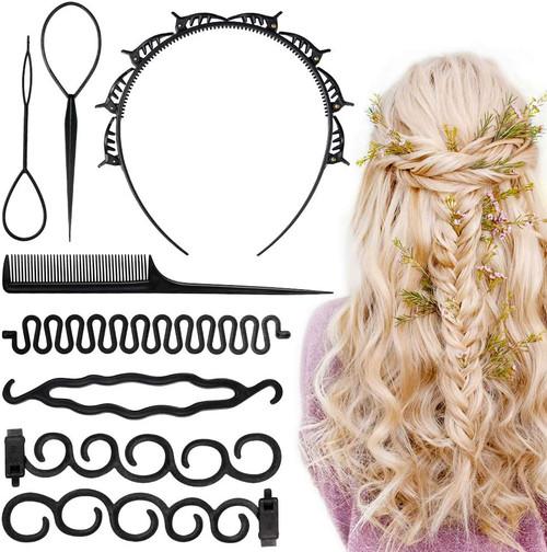 Codream 8 Pcs Hair Braiding Tools Set
