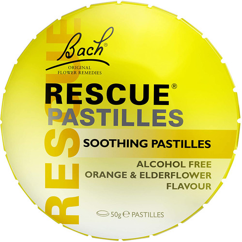 RESCUE Orange Soothing Pastilles With Sweetner - 50 g