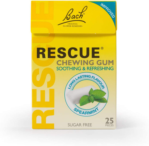 RESCUE Refreshing Spearmint Chewing Gums - 25 Pcs