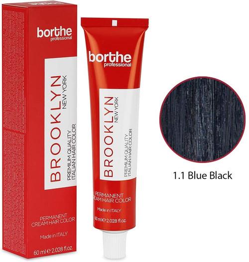 BORTHE Permanent Hair Colour-Blue Black