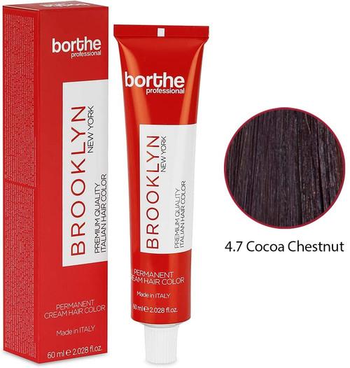 BORTHE Permanent Hair Colour-Cocoa Chestnut