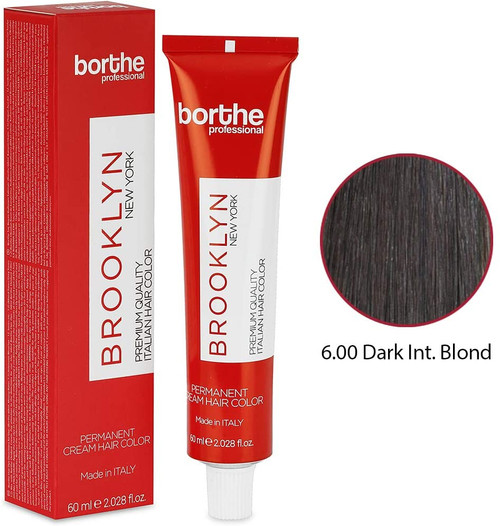 BORTHE Permanent Hair Colour-Dark Intense Blonde