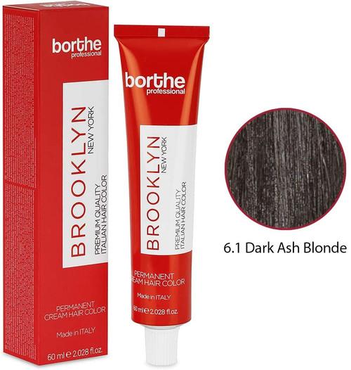 BORTHE Permanent Hair Colour-Dark Ash Blonde