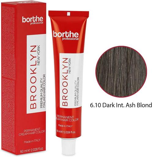 BORTHE Permanent Hair Colour-Dark Intense Ash Blonde