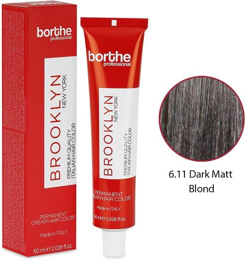 BORTHE Permanent Hair Colour-Dark Matte Blonde
