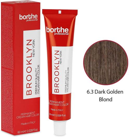 BORTHE Permanent Hair Colour-Dark Golden Blonde