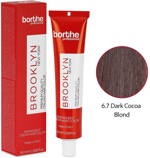 BORTHE Permanent Hair Colour-Dark Cocoa Blonde