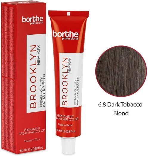 BORTHE Permanent Hair Colour-Dark Tobacco Blonde
