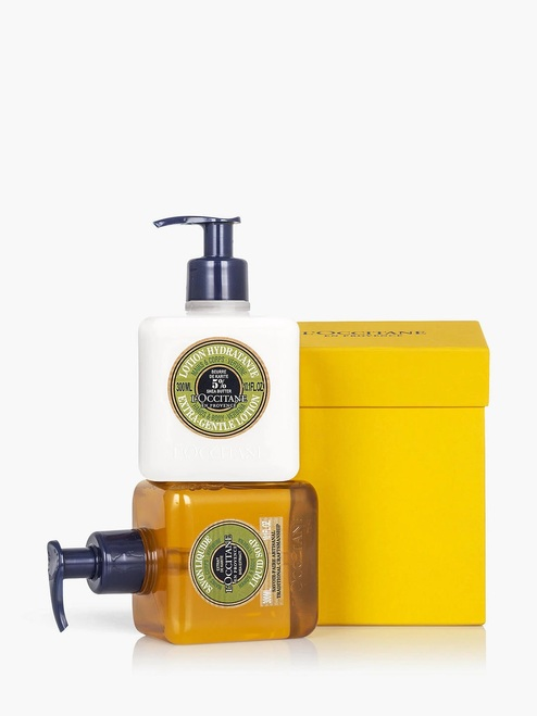 L'Occitane Verbena Gift Set Hand Wash & Lotion Collection Bodycare