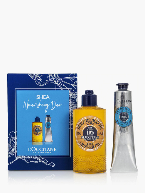 L'Occitane Shea Nourishing Gift Set Duo Bodycare