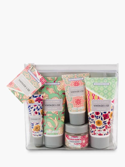 Heathcote & Ivory Beauty Gift Set Fabric & Flowers Top to Toe