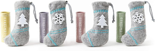 Scentered Aromatherapy Mini Balm Stick Stocking Gift Set - Pack of 4