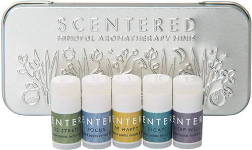 Scentered Aromatherapy Mindful Mini Pulse Points Balms Gift Set