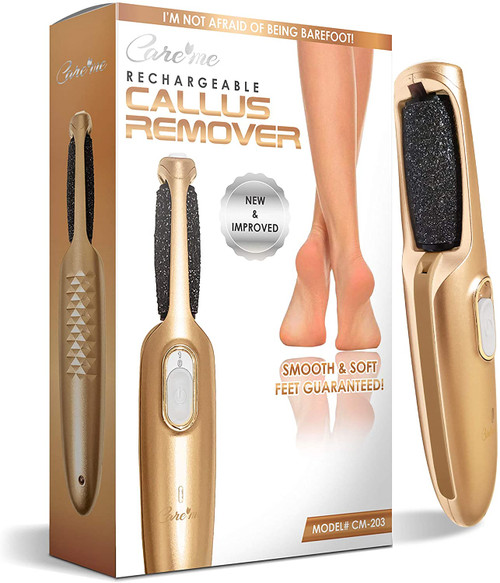 CareMe Electric Callus Remover Foot File for Smooth Soft Feet