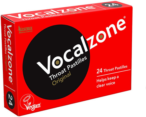 Vocalzone Soothe and Clear Throat Pastilles - Original