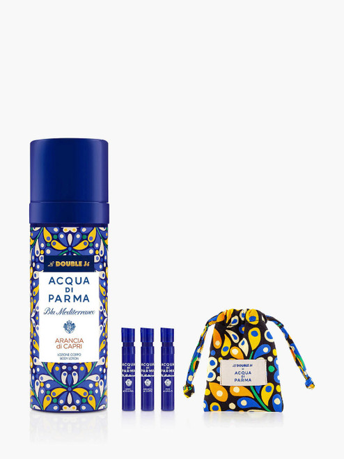 Acqua di Parma Body Lotion Bundle with Gift Blu Mediterraneo La Double J Arancia di Capri