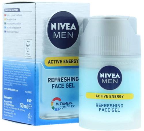 NIVEA MEN Active Energy Refreshing Face Gel - 50 ml