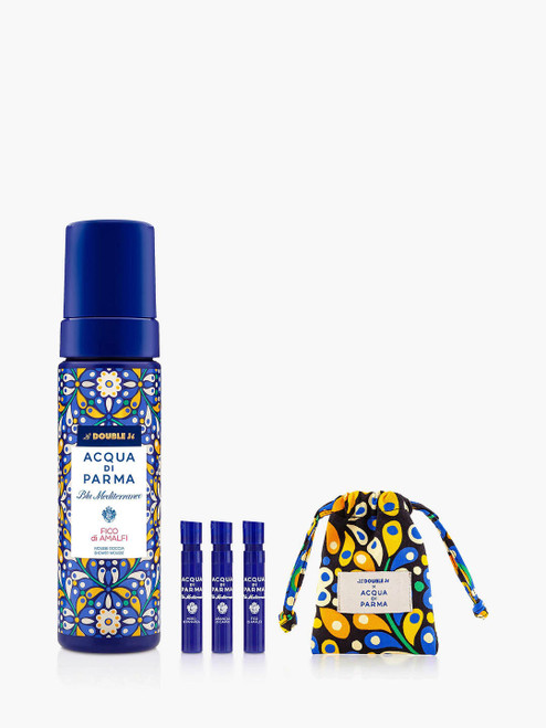 Acqua di Parma with Gift Blu Mediterraneo La Double J Fico di Amalfi Shower Mousse Bundle