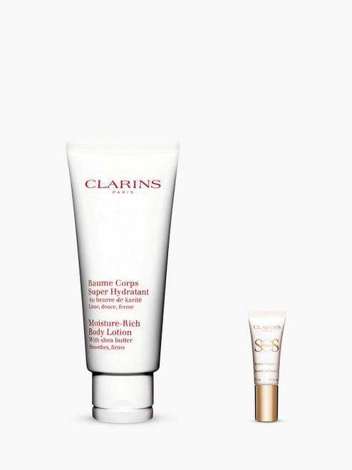 Clarins Bundle with Gift Moisture-Rich Body Lotion-200ml