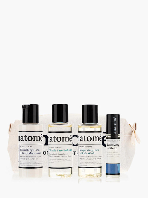 anatomē Rest and Hydrate Travel Set