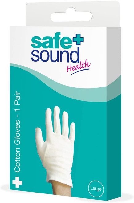 Safe and Sound Multipurpose Cotton Gloves - 1 Pair