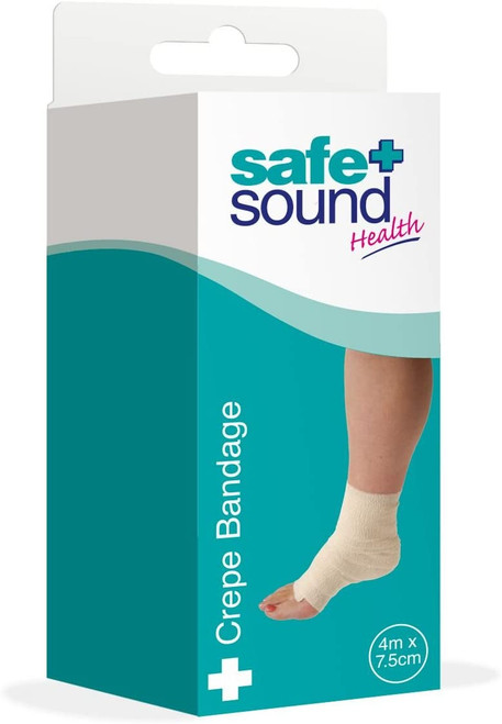 Safe and Sound Soft and Stretchable Crepe Bandage