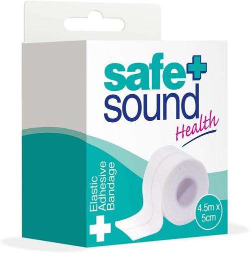 Safe and Sound Stretchable and Elastic Adhesive Bandage