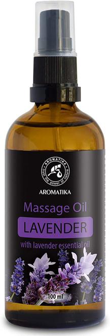 Aromatika Lavender De-stress Massage Oil - 100ml