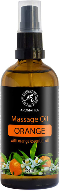 Aromatika Orange Soft and Calm Massage Oil - 100ml