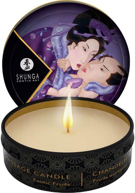 Shunga Exotic Fruits Sensual Massage Candle - 30 ml