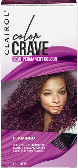 Clairol Colour Crave Semi Permanent Hair Dye-Flamingo